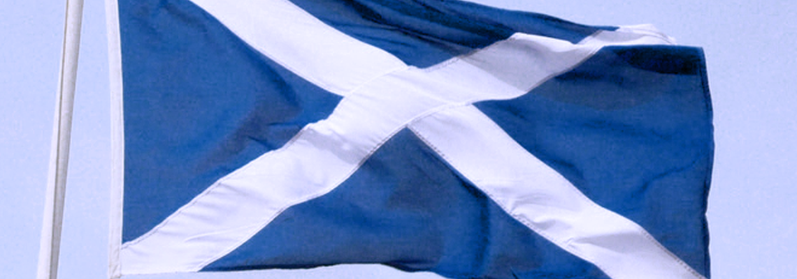 The Saltire - The National Flag of Scotland