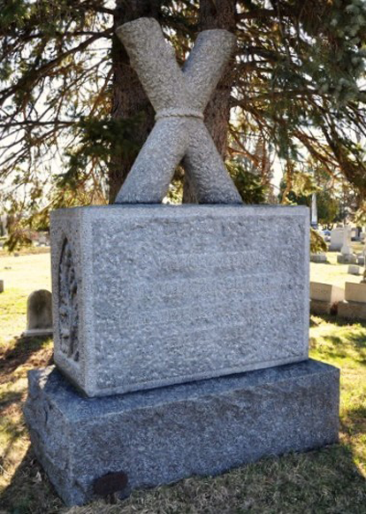St. Andrews Cross<br>Section 26 Albany Rural Cemetery