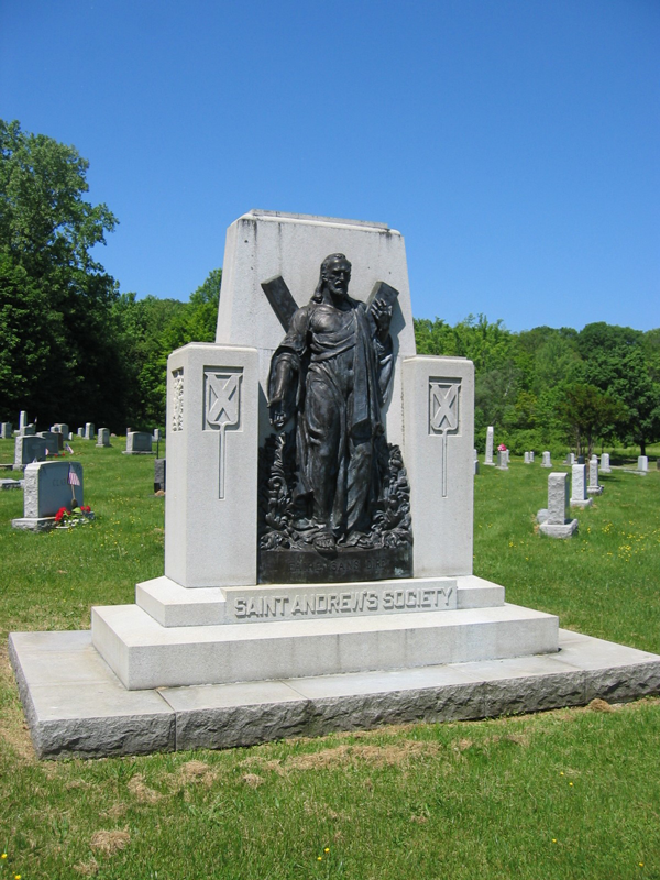 St. Andrews Society Monumen<br> Section 123 Albany Rural Cemetery